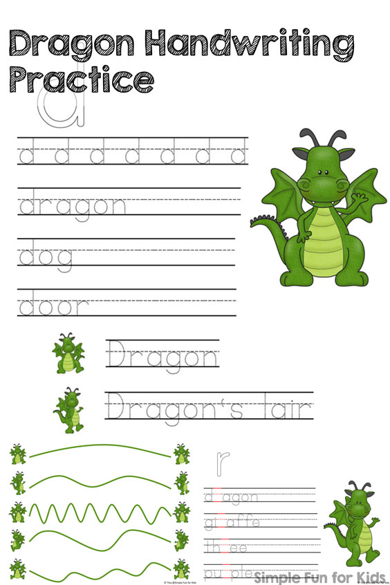 dragon-handwriting-practice-printable-title-product-image