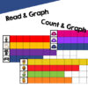 Have fun learning how to make graphs and tally charts with seasonal themes for the whole school year: fall, Halloween, Thanksgiving, winter, Christmas, Valentines Day, spring, and Easter! Includes eight themes and three types of activities at different levels: Graphing games, count & graph no-prep worksheets, and read & graph no-prep worksheets.
