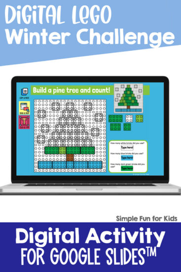 Ten fun EDITABLE winter-themed digital LEGO challenges for Google Slides and Google Classroom. Students can practice skills such as copying & pasting, dragging & dropping, typing in text boxes, and counting in a super-engaging way.