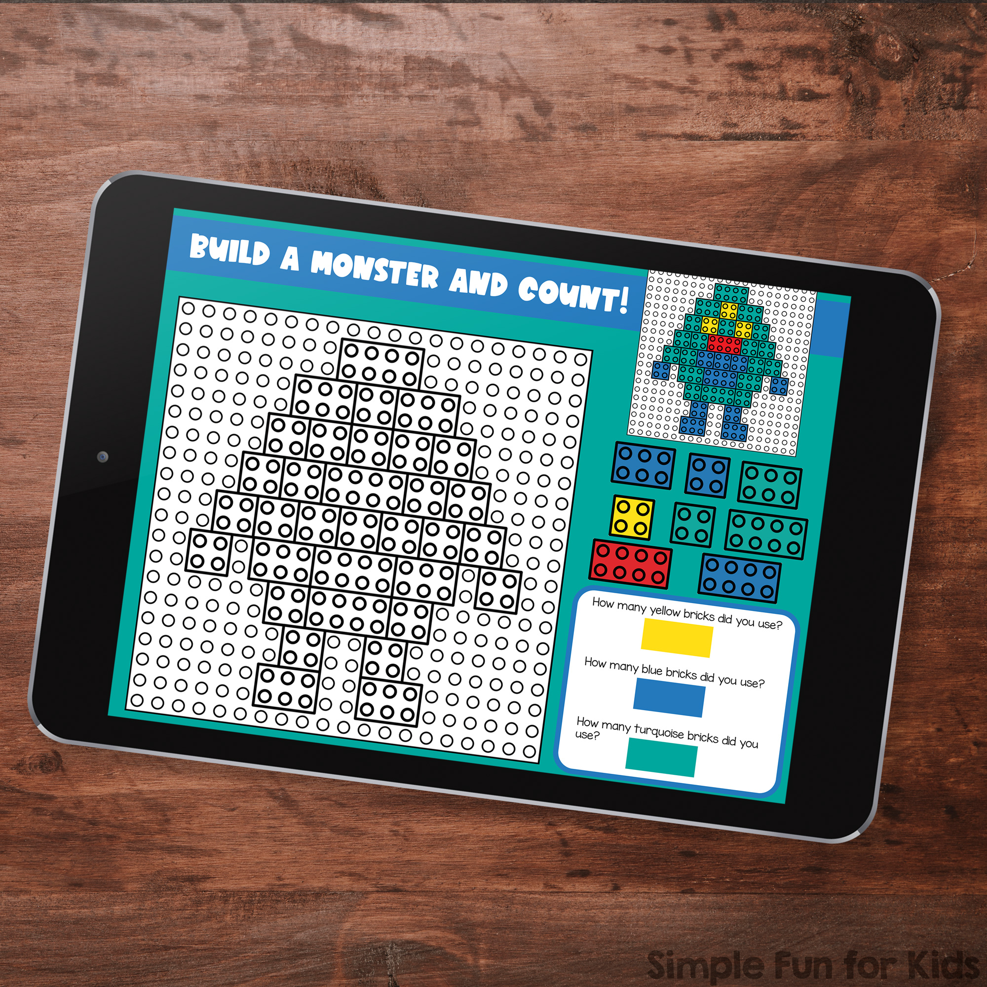 Ten fun monster-themed digital LEGO challenges for Google Slides and Google Classroom. Students can practice skills such as copying & pasting, dragging & dropping, typing in text boxes, and counting in a super-engaging way.