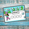 Editable Digital Build a Snowball Pre-Primer Sight Word activity! Includes all 40 pre-primer sight words and is also editable for use with other words. Great for kindergarten distance learning, digital literacy centers, and homeschooling.